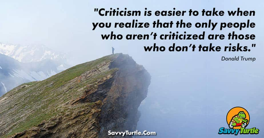 Criticism is easier to take when you realize