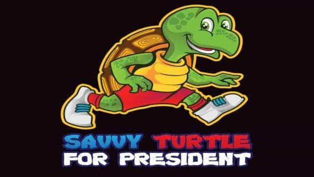 Savvy Turtle for President Limited Edition