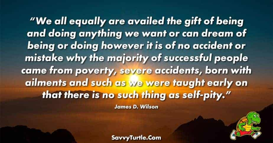 We all equally are availed the gift of