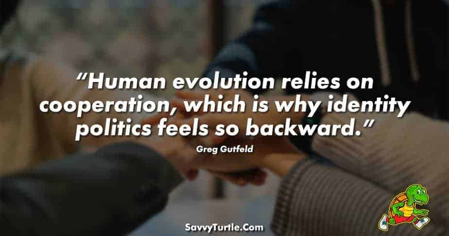 Human evolution relies on cooperation