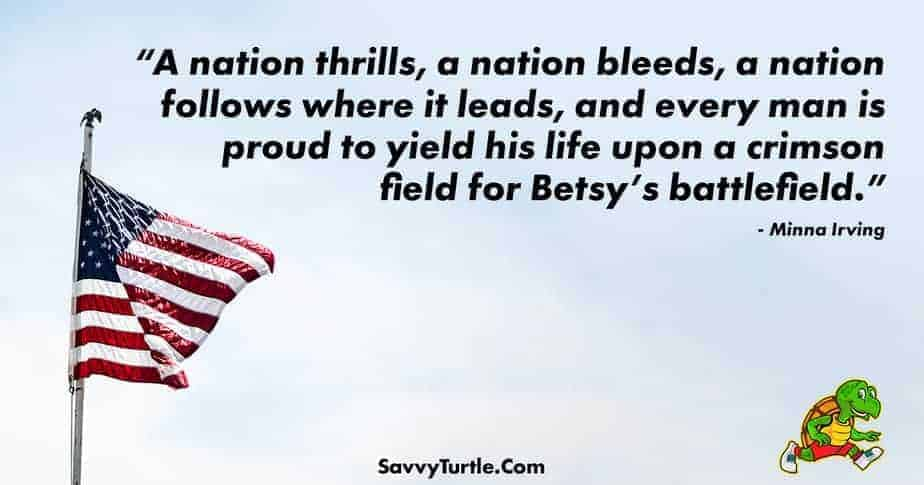 A nation thrills a nation bleeds a nation follows