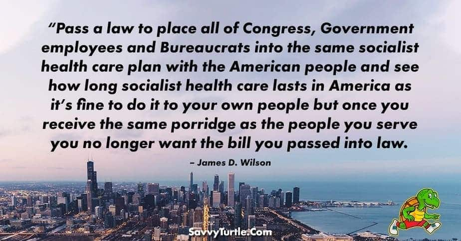 Pass a law to place all of Congress Government