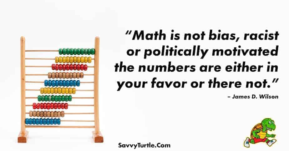 Math is not bias racist or politically motivated