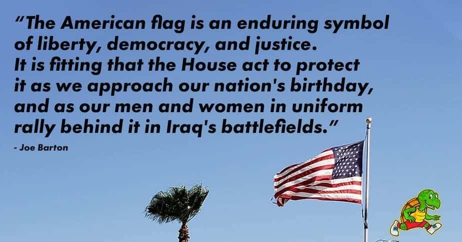 The American flag is an enduring symbol of liberty