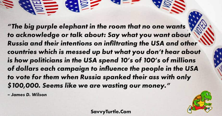 The big purple elephant in the room that no one wants to acknowledge