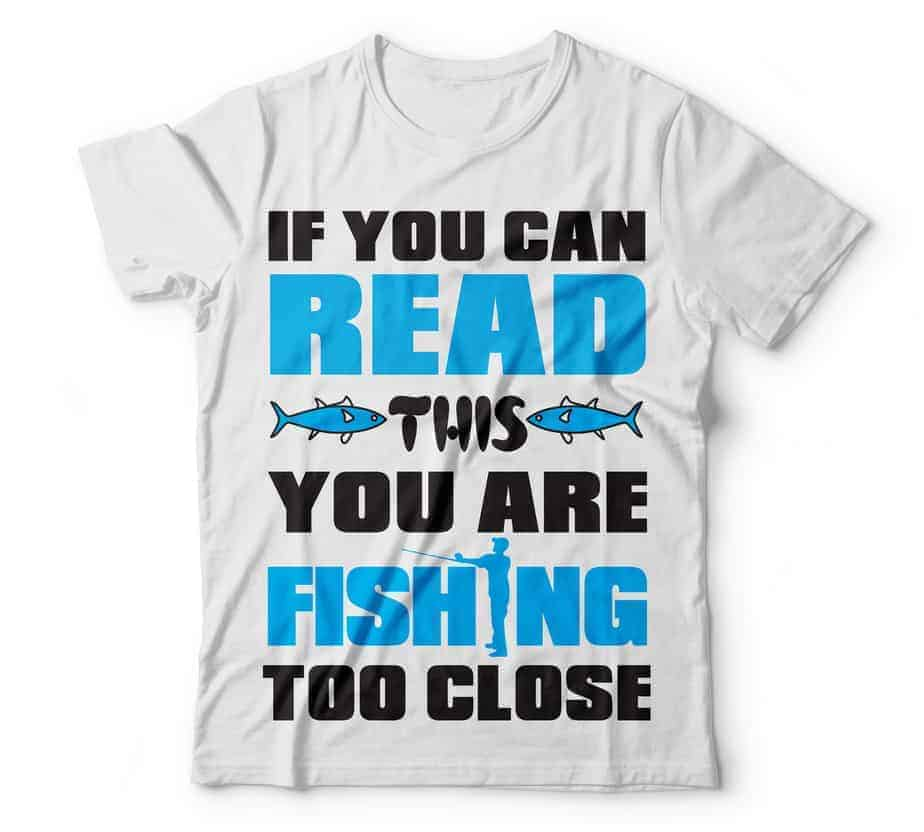 if you read this you are fishing