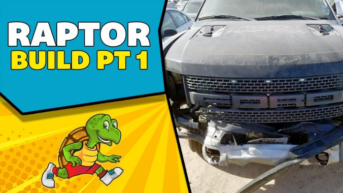Rebuilding a Wrecked 2014 Ford Raptor Part 1