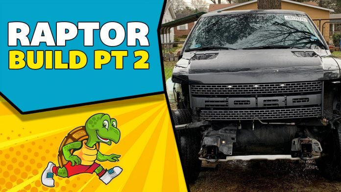Rebuilding a Wrecked 2014 Ford Raptor Part 2