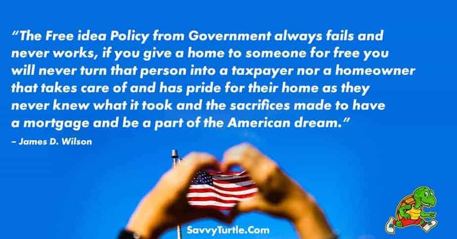 The Free idea Policy from Government always fails