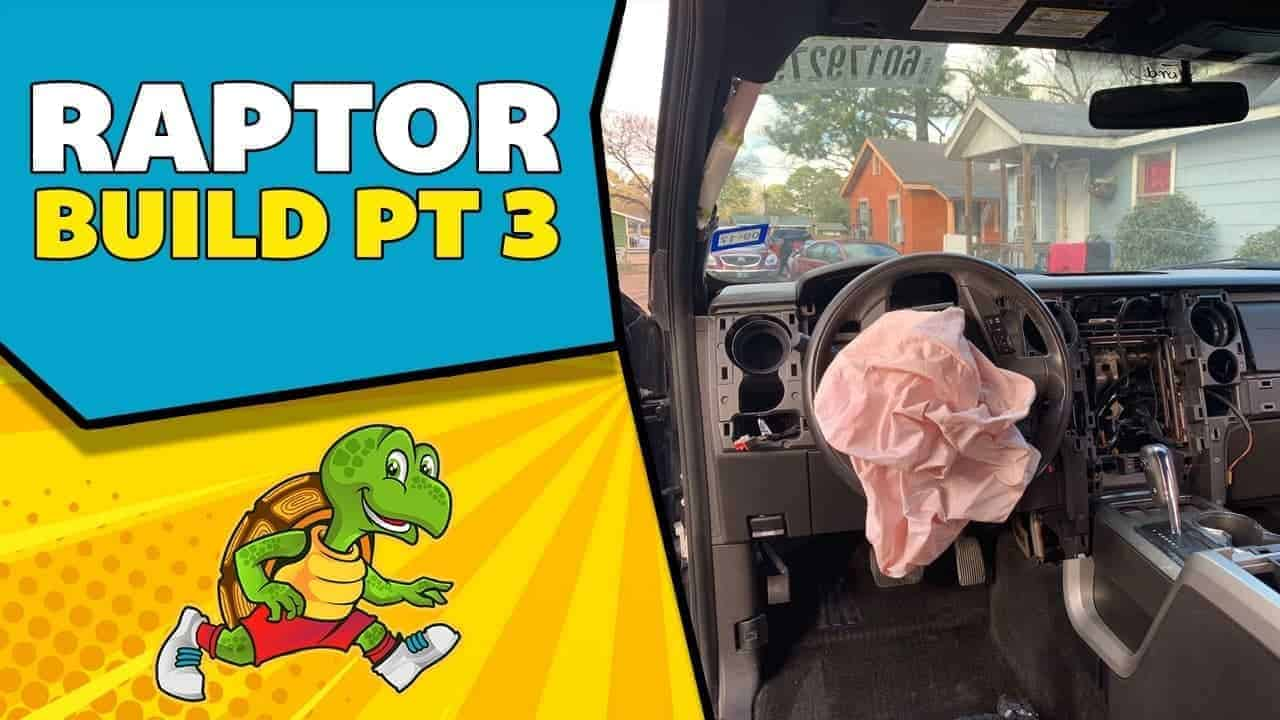 Rebuilding a Wrecked 2014 Ford Raptor Part 3