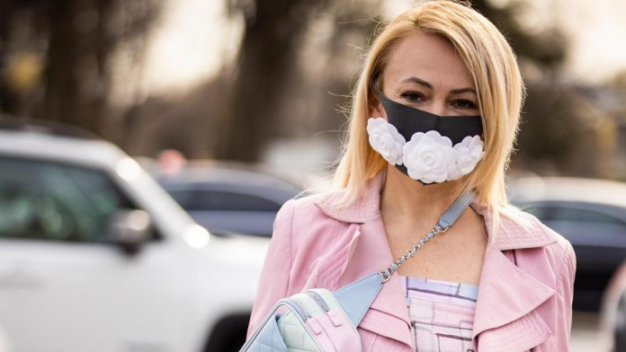Face masks as a new fashion statement piece