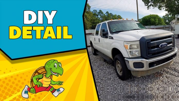 How To Detail your Ford F250 Super Duty
