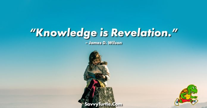 Knowledge is Revelation