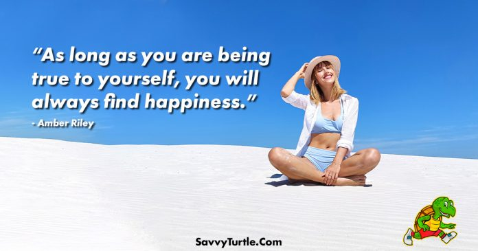 As long as you are being true to yourself