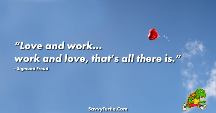 Love and work work and love