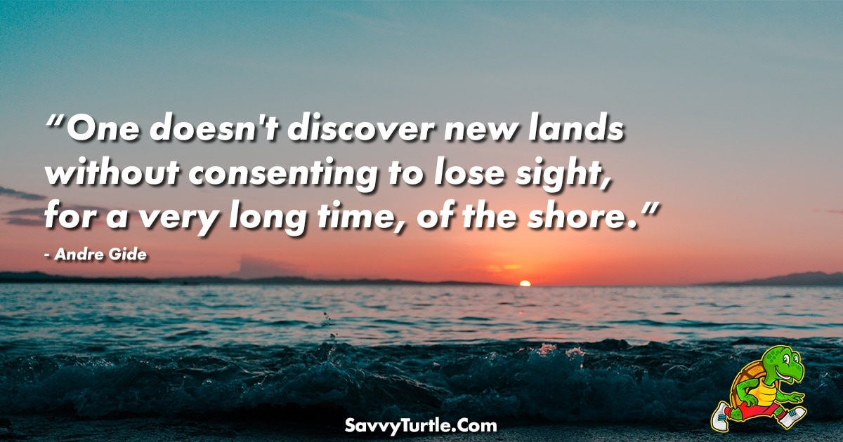 One doesnt discover new lands without consenting